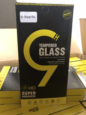 Tempered Glass for IPhone 11 and XS for Sale in San Antonio, TX