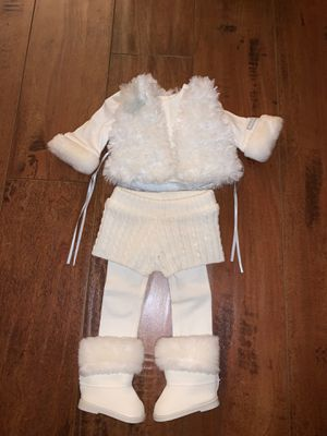 American Girl Doll - Winter White Outfit for Sale in Fullerton, CA