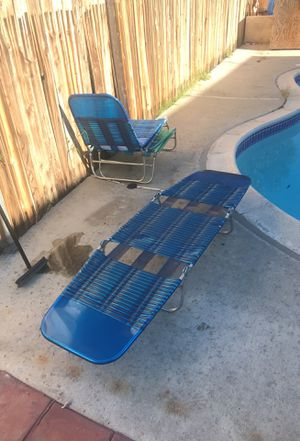 Swimming pool long chair for Sale in San Diego, CA