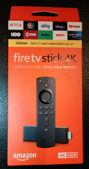 Amazon go7ovm1703250w89 Fire TV Stick 4K Streaming Media Player with Alexa for Sale in Miami, FL