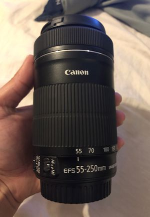 canon 55-250mm lens for Sale in Baldwin Park, CA