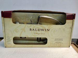 Baldwin prestige Nautica Satin Nickel with Tobin Lever handle set for Sale in Garden Grove, CA