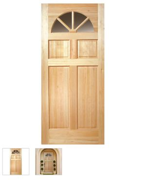 NEW Masonite 36 in. x 80 in. Front Door Slab - From Home Depot for Sale in North Miami Beach, FL