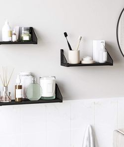 Wall Shelves, Set of 3, Metal Floating Shelves for Sale in City of Industry,  CA