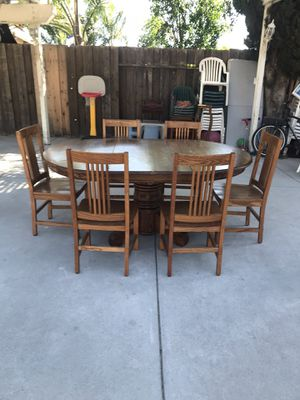 Wood chairs and wood table for Sale in San Jose, CA