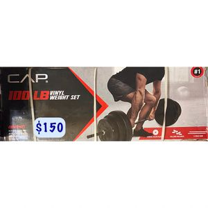 CAP 100lb Vinyl Weight Set for Sale in La Puente, CA