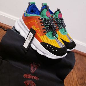 Designer Chain Reaction Versace Shoes for Sale in Silver Spring, MD