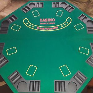 8 Person Table Top Poker for Sale in Toms River, NJ