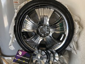 18' chrome rims for Sale in Fort Worth, TX