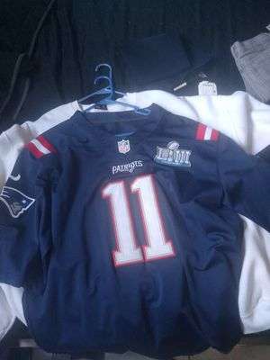 New England Patriots #11 Edelman nike jersey for Sale in Huntington Park, CA