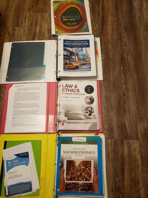 College textbooks looseleaf for Sale in Sanford, NC