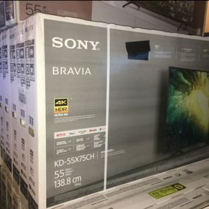 Sony Bravia 55 inch 4K TV android smart with warranty 2020 model black Friday sale for Sale in Pasadena, CA