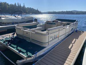 1999 24' party craft pontoon boat for Sale in Crestline, CA