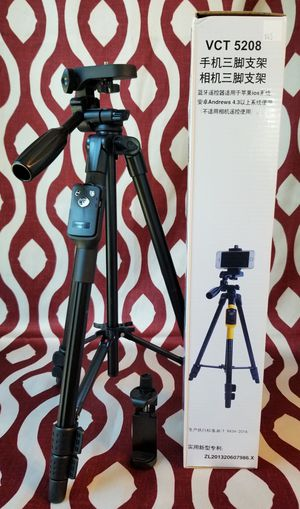 !Cellphone and Camera tripod stand for Sale in Moreno Valley, CA