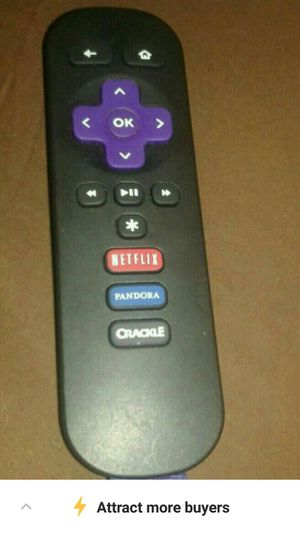 Roku remote only for Sale in Cocoa, FL