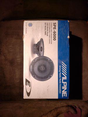 Alpine SPE-6000, NEW IN BOX for Sale in Salt Lake City, UT