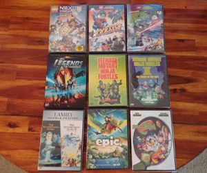 9 DVD kids movie bundle (10 movies) for Sale in Seattle, WA