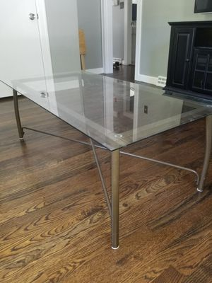 Bronze glass coffee table set for Sale in Billerica, MA
