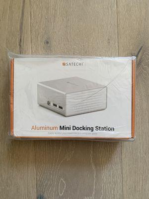Satechi USB 3.0 Aluminum Mini Docking Station for Sale in San Francisco, CA