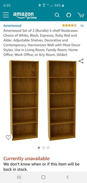 Bookshelves for Sale in Phoenix, AZ