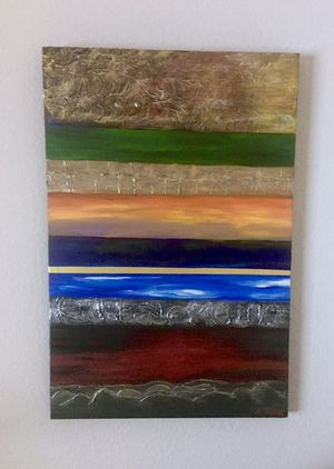 Original Abstract Art on stretched canvas for Sale in Fort Lauderdale, FL