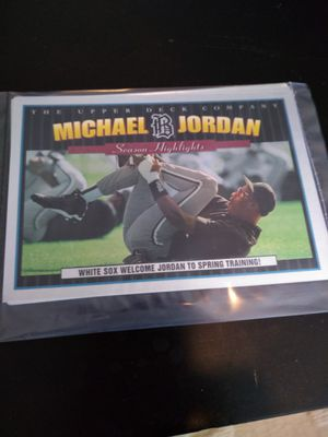 Michael Jordan Chrome Collector's Cards for Sale in St. Louis, MO