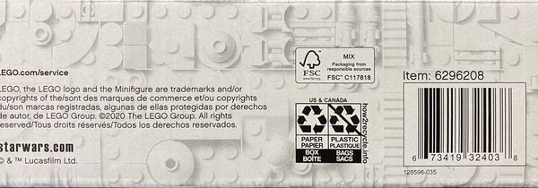 LEGO 75292 Disney Star Wars The Mandalorian Razor Crest