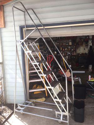 Cotterman 7 Step Rolling Ladder for Sale in Portland, OR