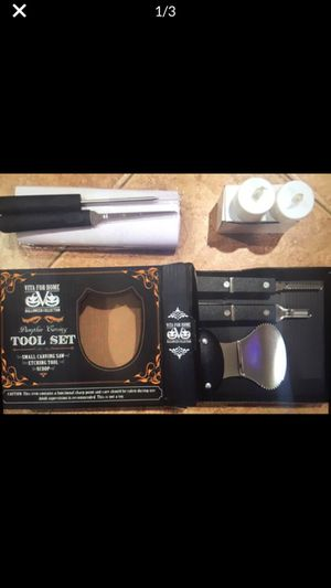 New Halloween pumpkin carving tool professional kit bundle for Sale in Rancho Cucamonga, CA