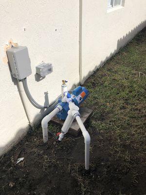 Pozo de agua pozo de recuperación limpieza bombas de riego sistemas sprinklers for Sale in FL, US