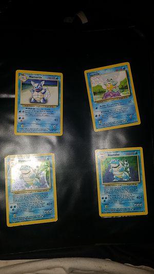 Base set blastoise pokemon card set for Sale in Olympia, WA
