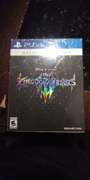 Kingdom Hearts 3 Deluxe Edition PS4 Brand New for Sale in Lynwood, IL