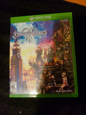 kingdom hearts 3 for Sale in Reedley, CA