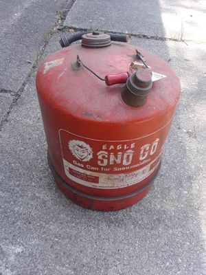 Snowmobile gas can.. for Sale in Saint CLR SHORES, MI