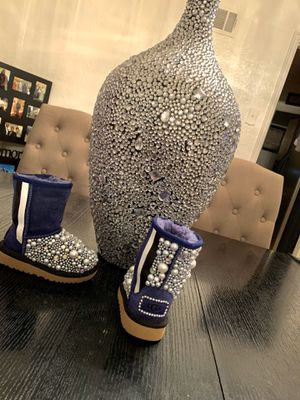 Bling baby girl boots for Sale in Bridgeton, MO