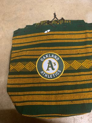 Oakland athletics backpack for Sale in Moreno Valley, CA