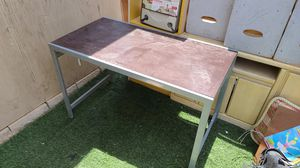 Metal table for Sale in Tucson, AZ