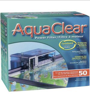 AquaClear Power Filter - 50 gallon tanks for Sale in Rockville, MD
