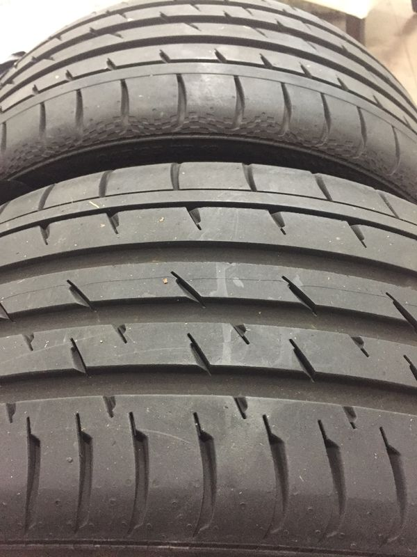 245 35 19 continental 93y set of 2 tires