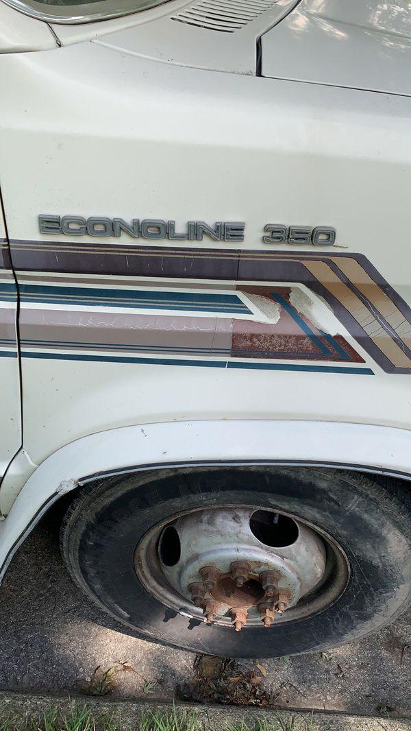 Ford motorhome