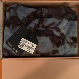 Tye-Dye Louis Vuitton T-Shirt By Virgil for Sale in Los Angeles, CA