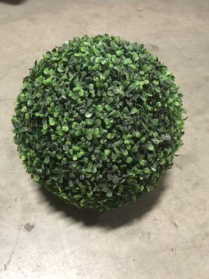 Decorative Fake Plant Ball for Sale in South El Monte, CA