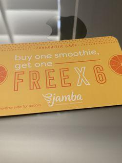 Jamba Juice BOGO X6 for Sale in Bakersfield,  CA