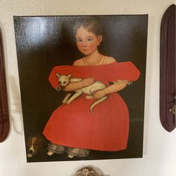Photo Of Girl And Dog for Sale in Aberdeen,  WA