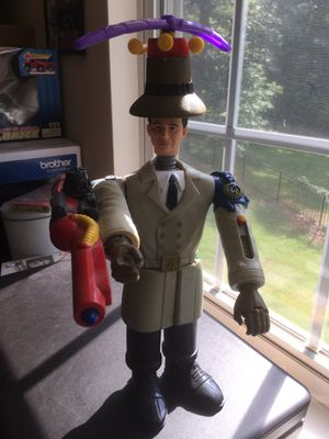 "Inspector Gadget 1999 McDonalds Disney Promotional 14"" Action Figure for Sale in Charlotte, NC"