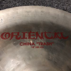 "Zildjian China Trash 18"" Cymbal for Sale in Los Angeles, CA"