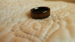 KONY black Titanium Ring for Sale in Toledo, OH