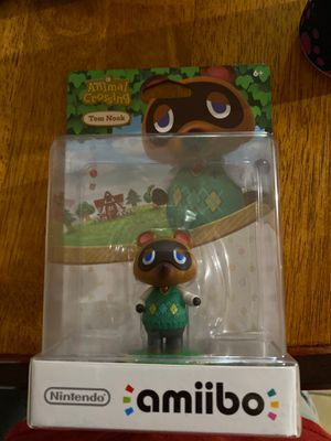 Tom Nook Amilbo Toy Figure $10 for Sale in Houston, TX