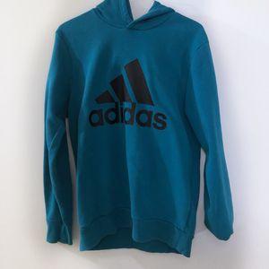 Adidas Teal Blue Hoodie Sweatshirt for Sale in Fort Stewart, GA