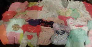 63pc Newborn Girl Bundle for Sale in Detroit, MI